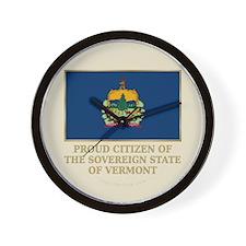 Vermont Proud Citizen Wall Clock