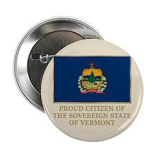 """Vermont Proud Citizen 2.25"""" Button"""