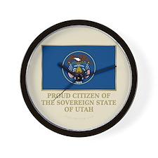 Utah Proud Citizen Wall Clock