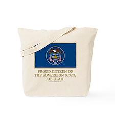 Utah Proud Citizen Tote Bag