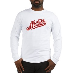 Midrealm Red/White Retro Long Sleeve T-Shirt