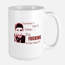 Tourette's Hangover Size Mug