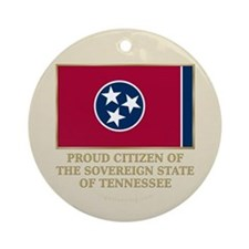 Tennessee Proud Citizen Ornament (Round)