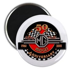 """Official """"50 Years of Midgets"""" Magnet"""
