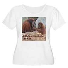 Orangutan Mom and Child T-Shirt