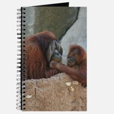 Orangutan Mom and Child Journal