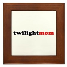 Twilight Mom (Bold) Framed Tile