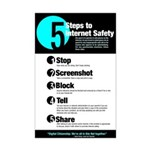 Internet Safety Mini Poster Print