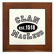 Clan MacLeod Framed Tile