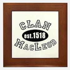 Clan MacLeod Framed Tile