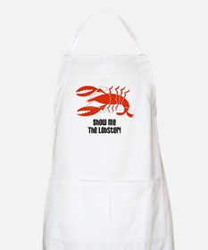 Show Me The Lobster BBQ Apron