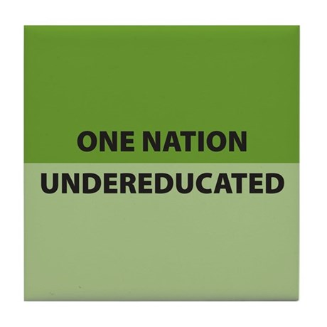 One Nation Tile Coaster