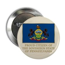 """Pennsylvania Proud Citizen 2.25"""" Button"""