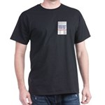 Vegan Police Black T-Shirt