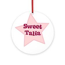 Sweet Talia Ornament (Round)