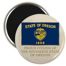 """Oregon Proud Citizen 2.25"""" Magnet (10 pack)"""