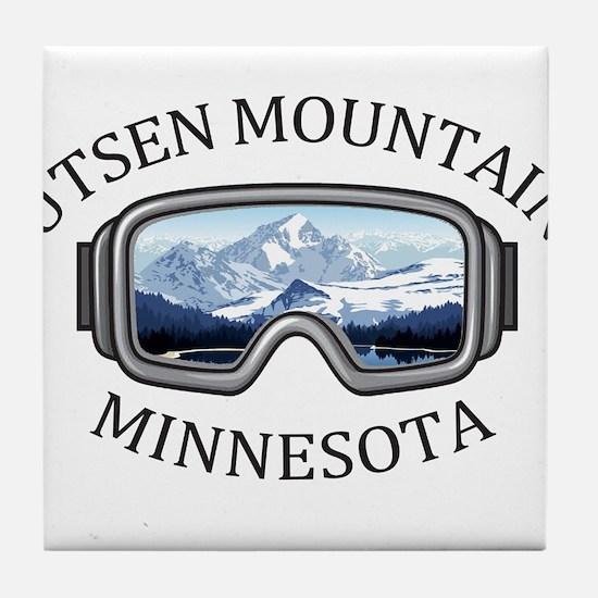 Lutsen Mountains - Lutsen - Minneso Tile Coaster
