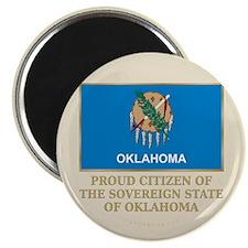 "Oklahoma Proud Citizen 2.25"" Magnet (10 pack)"