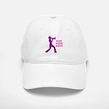 Find Your Voice Baseball Baseball Cap