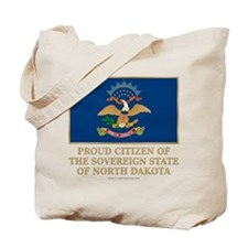 Proud Citizen of North Dakota Tote Bag