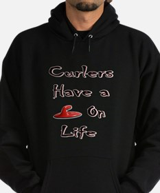 Curlers Have a Handle on Life Hoodie