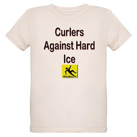 Curlers Against Hard Ice Organic Kids T-Shirt