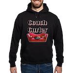 Couch Curler Hoodie (dark)