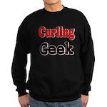 Curling Geek Sweatshirt (dark)
