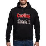 Curling Geek Hoodie (dark)