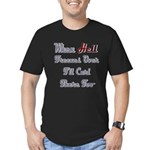When Hell Freezes Over 2 Men's Fitted T-Shirt (dar