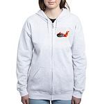 Flaming Rock Women's Zip Hoodie