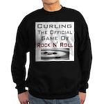 Curling-The Official Game Of Sweatshirt (dark)