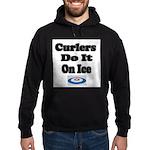 Curlers Do It On Ice Hoodie (dark)