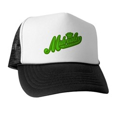 Midrealm green retro Trucker Hat