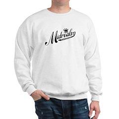 Midrealm b/w retro Sweatshirt