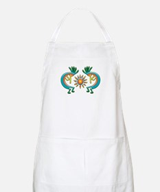 Kokopelli with Sun BBQ Apron