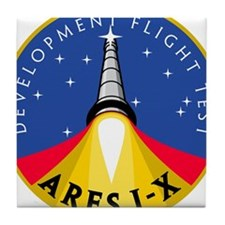 Ares I-X Development Test Fli Tile Coaster
