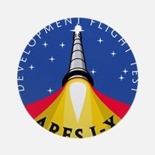 Ares I-X Development Test Fli Ornament (Round)