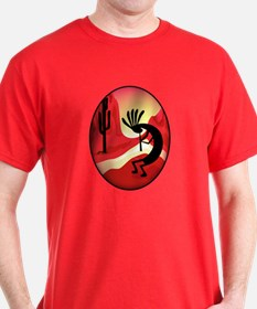 Southwest Kokopelli Sunset T-Shirt