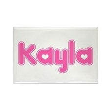 """Kayla"" Rectangle Magnet"
