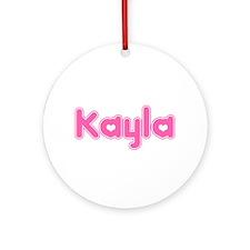 """Kayla"" Ornament (Round)"