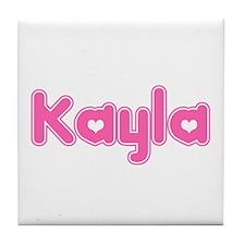 """Kayla"" Tile Coaster"