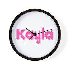 """""""Kayla"""" Wall Clock"""