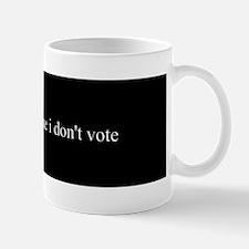 non-voter Mug