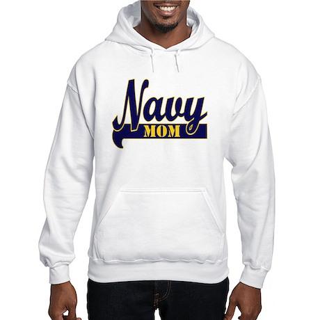 Collegiate Navy Mom 2 Hooded Sweatshirt
