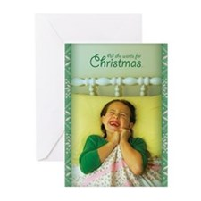 Two Front Teeth For Christmas Cards (Pk of 10)