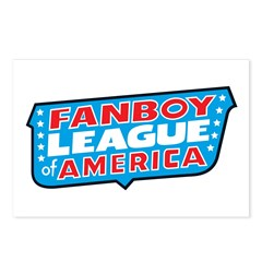Fanboy League Postcards (Package of 8)