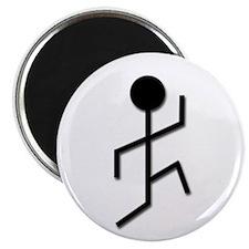 "Running Man 2.25"" Magnet (100 pack)"