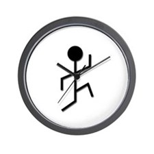 Running Man Wall Clock