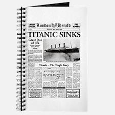 "London Herald ""Titanic SInks Journal"